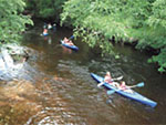 View larger image of Kids kayaking at WINDING RIVER CAMPGROUND image #10