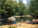 View larger image of Lake view at GREENBRIER CAMPGROUND image #3