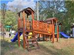 View larger image of Playground with swing set at GREENBRIER CAMPGROUND image #4
