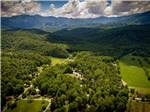 View larger image of An aerial view of the sites at GREENBRIER CAMPGROUND image #9