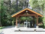 View larger image of Covered fish cleaning station at POMO RV PARK  CAMPGROUND image #8