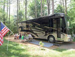 View larger image of Kids camping in RV at PINE ACRES FAMILY CAMPING RESORT image #3
