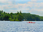 View larger image of Kids kayaking at PINE ACRES FAMILY CAMPING RESORT image #6