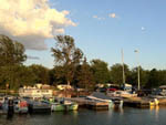 View larger image of Boats docked in the harbor at RIDEAU ACRES CAMPING RESORT image #4