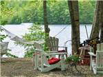View larger image of Hammock on the lake at WITCH MEADOW LAKE FAMILY CAMPGROUND image #4