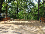 View larger image of Gravel road leading into RV park at TALL PINES CAMPGROUND image #3