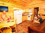 View larger image of Inside cabin at PIRATELAND FAMILY CAMPING RESORT image #10