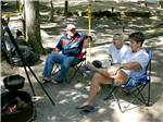 View larger image of Folks camping at BIG OAKS FAMILY CAMPGROUND image #4