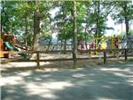 View larger image of Playground with swing set at BIG OAKS FAMILY CAMPGROUND image #5