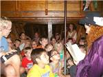 View larger image of Kids story time at BIG OAKS FAMILY CAMPGROUND image #6