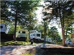 View larger image of Trailers camping at MUSICLAND KAMPGROUND image #5