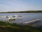 View larger image of Boat docked at BUFFALO LAKE CAMPING RESORT image #4
