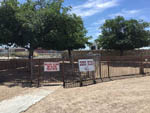 View larger image of View of fenced dog run at MISSION RV PARK image #12