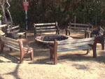 View larger image of Fire pit at NAVARRE BEACH CAMPING RESORT image #6