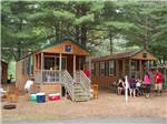View larger image of Cabins with decks at TWIN MILLS RV RESORT image #3