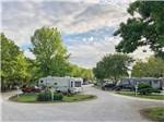 View larger image of Picnic tables and trailers camping at OSAGE BEACH RV PARK image #1