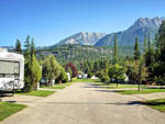 View larger image of Another view of the RV sites at FAIRMONT HOT SPRINGS RESORT image #5