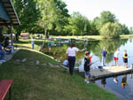 View larger image of Kids fishing at LAKESIDE CAMP PARK image #2