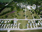 View larger image of Aerial view over campground at MILTON HEIGHTS CAMPGROUND image #2