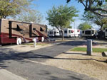 View larger image of RVs and trailers at campground at CASTAIC LAKE RV PARK image #2