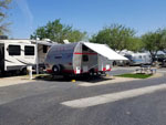 View larger image of Trailers camping at CASTAIC LAKE RV PARK image #3