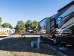 View larger image of A Class A motorhome hooked up at GRAND CANYON TRAILER VILLAGE RV PARK image #3