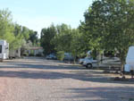 View larger image of Gravel road leading to sites at MOORES RV PARK  CAMPGROUND image #2