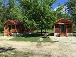 View larger image of Cabins with decks at QUIETWOODS SOUTH CAMPING RESORT image #7