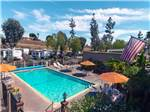 View larger image of An aerial view of the swimming pool at CIRCLE RV RESORT - SUNLAND image #1