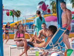 View larger image of People relaxing by the pool at CIRCUS CIRCUS RV PARK image #3
