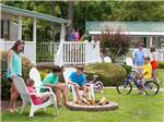 View larger image of Family camping at BETHPAGE CAMP-RESORT image #4