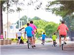 View larger image of Family biking at BETHPAGE CAMP-RESORT image #6
