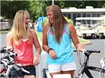 View larger image of Girls biking at BETHPAGE CAMP-RESORT image #7