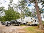 View larger image of Trailers camping at NOCCALULA FALLS CAMPGROUND image #1