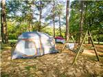 View larger image of Tents camping at NOCCALULA FALLS CAMPGROUND image #6