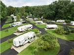 View larger image of An overview of the RV sites at LAKE IN WOOD RESORT image #1