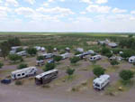 View larger image of Amazing aerial view over resort at FORT STOCKTON RV PARK image #2