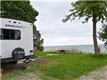 View larger image of People enjoying a mini train ride at CAMPERS COVE CAMPGROUND image #5