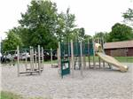 View larger image of People playing volleyball on sand at CAMPERS COVE CAMPGROUND image #6