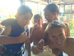 View larger image of Kids eating ice-cream at CHULA VISTA RV RESORT image #5
