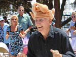 View larger image of Man with a turkey hat on dancing at CHULA VISTA RV RESORT image #6