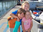 View larger image of Kids on the dock at CHULA VISTA RV RESORT image #7