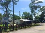 View larger image of Trailers camping at WEST JUPITER RV RESORT image #1