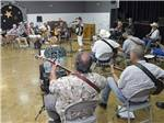 View larger image of Jam session at MESA REGAL RV RESORT image #8
