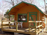 View larger image of Log cabin with deck at MARVAL RESORT image #8