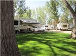 View larger image of Trailers camping at ROUGHRIDER CAMPGROUND image #1