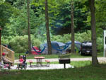 View larger image of Tents camping at LAZY RIVER AT GRANVILLE CAMPGROUND image #5