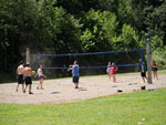 View larger image of Volleyball court at LAZY RIVER AT GRANVILLE CAMPGROUND image #8