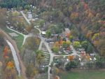 View larger image of Magnificent aerial view at LAZY RIVER AT GRANVILLE CAMPGROUND image #9