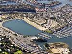 View larger image of Amazing aerial view over resort at NEWPORT DUNES WATERFRONT RESORT  MARINA image #1
